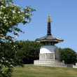 Peace pagoda milton keynes — Stock Photo