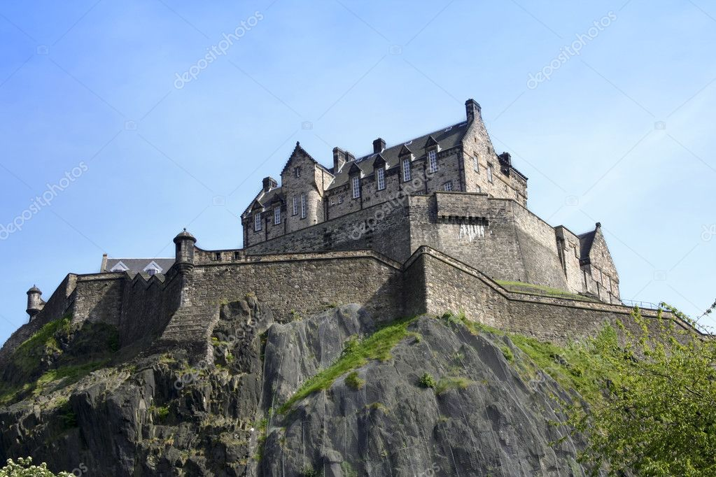 stock edinburgh castle - photo #23