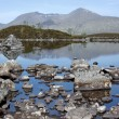 Rannoch moor scottish highlands — Stock Photo