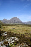 Glen coe pass scottish highlands — Stock Photo