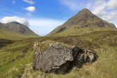 Glen coe pass scottish highlands — Photo