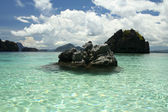 Bacuit archipeligo el nido palawan — Stock Photo