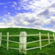 White Fence — Stock Photo #2797113