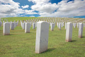 Military Cemetery — Stock Photo