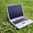 Foto de Stock  : Outdoors Computer