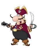 Pirate — Stock Vector