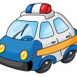 Stock Vector: Police car