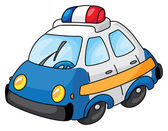 Police car — Stock Vector