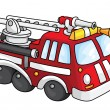 Royalty-Free Stock Vector Image: Fire engine