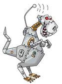Dinorobot — Vector de stock