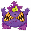 Royalty-Free Stock Vector Image: Terrible monster