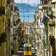 Typical Lisbon Tram — Stock Photo #2763832