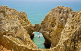 Caves in Ponta da Piedade, Lagos. — Stock Photo