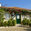 Typical house in obidos — Stock Photo
