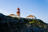 Lighthouse of Cabo de S — Stock Photo