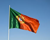 Portuguese Flag — Stock Photo