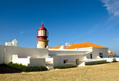 Lighthouse at Cabo de Sao Vicente, Algar — Stock Photo