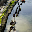 Rabelos boats on the river Douro. — Stock Photo