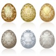Vector de stock : Easter eggs