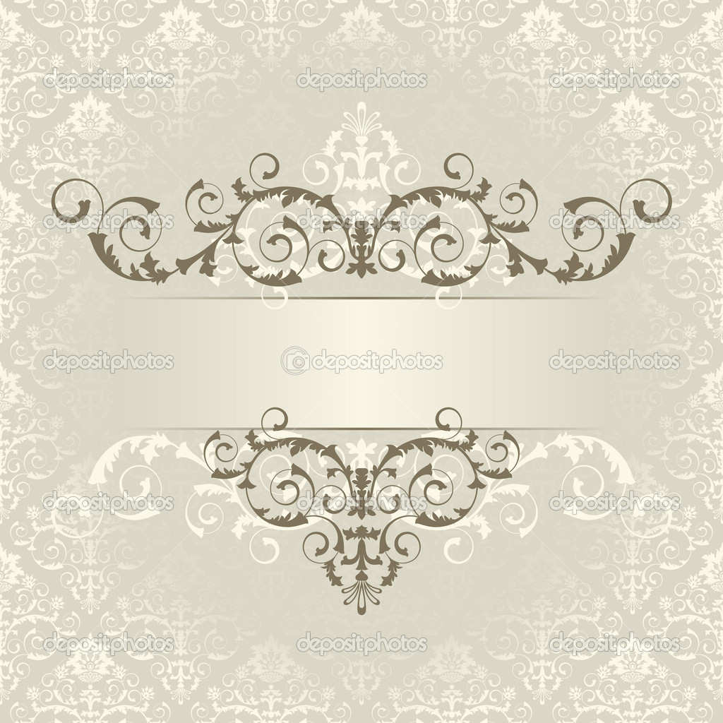 Frame on the beige background — Stock Vector #3567535