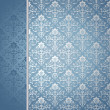 Blue and silver background - Stock Vector