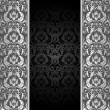 Royalty-Free Stock Vectorielle: Black and silver background