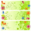 Summer banners — Stock Vector #3721445