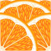 Pieces of orange. — Stock Vector