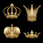 Crowns — Stockvector