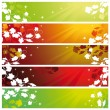 Royalty-Free Stock Vector Image: Banners with vine