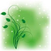 Yeşil arka plan — Stok Vektör