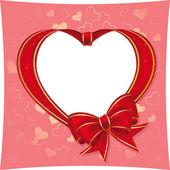 心臓、バレンタインに — ストックベクタ