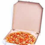 Boxed Pizza — Stock Photo