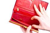 Empty wallet — Stock Photo