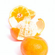 Line from mandarins - Stockfoto