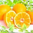 Many oranges — Stock Photo