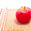 Stock Photo: Red apple