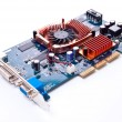 PC hardware video card - Stock Photo
