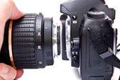 35mm kamera — Stok fotoğraf
