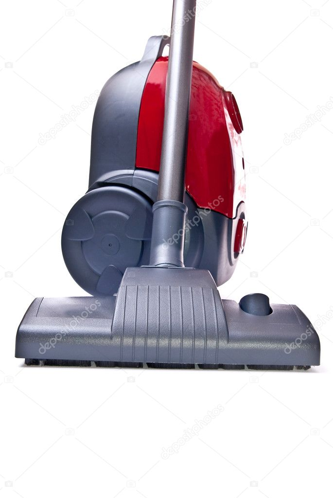 Vacuum cleaner isolated on white background — Stock Photo #3137359