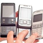 Mobile phones — Stock Photo #3434674