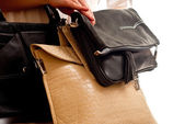 Three bags — Stock Photo