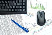 Office linje — Stockfoto