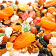 Dry fruit and nuts — Stock Photo #3708779