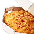 Stock Photo: Pizza in box