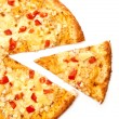 Piece of pizza - Stock Photo