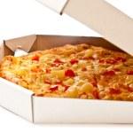 Pizza in box — Stock Photo #3708840