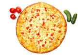 Frische pizza — Stockfoto