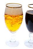 Twee bieren — Stockfoto