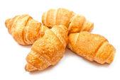 Vier croissants — Stockfoto